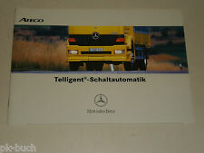 (Zusatz-) Betriebsanleitung Handbuch Mercedes Benz LKW Atego Telligent Schaltung