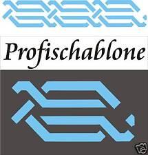 Schablonenmalerei Schablone Malerschablone Wandschablone Dekofries Mäanderband 4