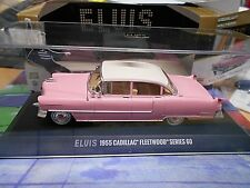 ELVIS Presley CADILLAC Fleetwood Series 60 1955 pink limited Greenlight 1:43