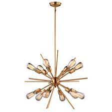 """Vaxcel Lighting P0228 Estelle 12-Light 27-1/2"""" Wide Sputnik Chandelier"""