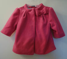 NWT Gymboree Happy Elephant Pink Fleece Jacket~ Girl's Sz 3-6M ~ Cute!