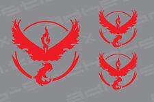 Pokemon Go Team Logo VALOR Vinyl Decal Sticker