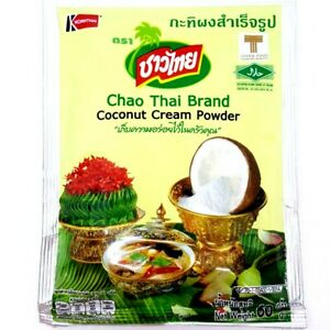 2x Chao Thai Coconut Cream Powder cooking baking curries desserts sweets Best