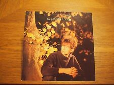 "Ian McCulloch September Song ECHO BUNNYMEN UK 7"" VINYL 45 Single PS 1984 KOW40"