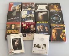 STOCK COLLECTION DVD FILM DIVERS ORIGINAUX+DOCUMENTAIRES 14 PEZZI