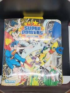 Super Powers Collection Vol 1. Kenner Case / DC Comics 1984 Vintage