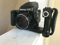 【Exc+5 Lens MINT Body w/ GL402】 Mamiya M645 Super + Sekor C 80mm F2.8 from JAPAN