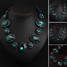New Fashion Women Crystal Chain Choker Sweater Necklace Pendant Jewelry Party
