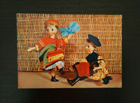 1960's Vintage Russian Postcard, Collectible Postcard, Old Soviet USSR Postcards