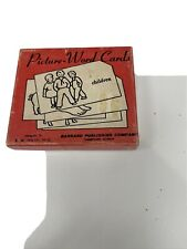 Vintage Picture-Word Cards