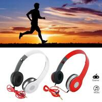 DJ Style Stereo Foldable Over Ear Headphones bass Sound for 3.5mm Jack & iPhone