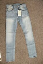 Cotton Faded High Rise 32L Jeans for Men