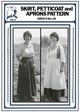Ladies 1700s-1800s Skirt, Petticoat & Aprons 8-20 Eagle's View Sewing Pattern 57