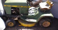 Vintage John Deere 108 Riding Mower Lawn Tractor .3L Briggs 191707 30 Deck Usa