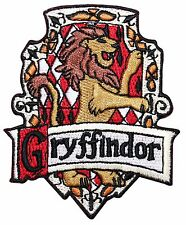 Gryffindor Hogwarts' House Crest Harry Potter Embroidered Iron On Applique Patch