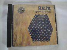 Vintage R.E.M. 'Eponymous'  CD (MCA Records 1988) Excellent Condition Smoke Free