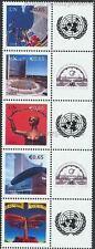 UNO WIEN - 2009 GRUSSMARKEN ESSEN 592-96 A (ANK 593-97) 5ER STREIFEN postfrisch