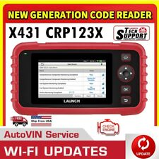 2020 LAUNCH X431 CRP123X OBD2 Scanner Diagnostic Service Tool ABS SRS Engine AT