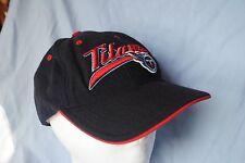 adult Tennessee Titans baseball cap football raised logo wool adjustable  navy