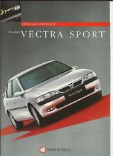 VAUXHALL VECTRA SPORT V6 SPECIAL EDITION - HATCH/SALOON & ESTATE  1997 BROCHURE
