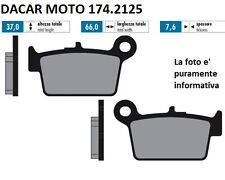 174.2125 PASTIGLIE FRENO SINTERED POLINI BETA  MOTARD 50 ALU AM6 2003