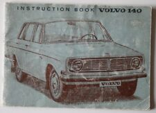 VOLVO 140 1969 Instruction book - English - ST1002001118