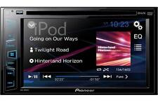 "Pioneer Double 2 Din AVH-180DVD RB DVD/MP3/CD Player 6.2"" Touchscreen AUX USB"