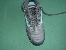 Boys Soccer Cleats Black/Blue Rawlings Size 3 - New with Tags