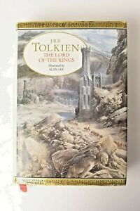 JRR Tolkein Lord of the Rings illustrated by Alan Lee 1991 BCA hardback book