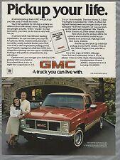 1985 GMC Pickup advertisement, Full-Size Half Ton Pickup, GMC ad