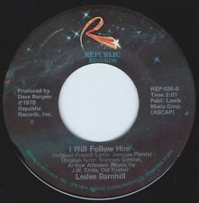 LESLEE BARNHILL I Will Follow Him ((**NEW UNPLAYED 45**)) from 1978