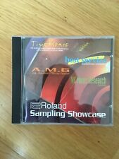 Roland Sampling Showcase CD