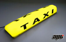 "24"" LED MAGNETIC TAXI ROOF SIGN LIGHT YELLOW AMBER TAXI METER TOP SIGN CAB LIGHT"