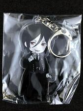Black Butler Kuroshitsuji Pikuriru Acrylic Key Holder Ring Sebastian Michaelis