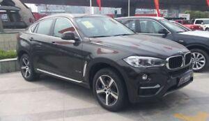 BMW X6 2015-2018 F16 F86 2ND GN SUV Slimline Window Visors/Weathershields (4PCS)