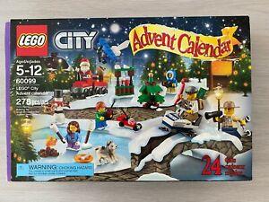 Lego Advent Calendar 2015, City BOX SEALED RETIRED New 60099 LL245
