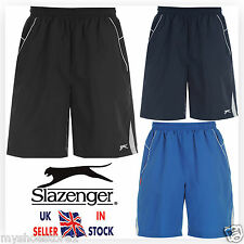 NEW MENS GENTS BOYS SLAZENGER WOVEN SHORTS GYM CASUAL SUMMER SPORTS SWIM RUNNING