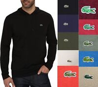 Lacoste Men Fashion Casual Lightweight Jersey Pullover Hoodie Sweater Top Shirt