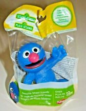 SESAME STREET Grover.. PLASTIC FIGURE TOY CAKE TOPPER NEW! 2.5 In. Tall
