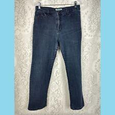 Charter Club womens jeans plus size 14P Petite blue medium wash inseam 26