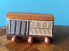altes Radio WZE Puppenhaus Puppenstube