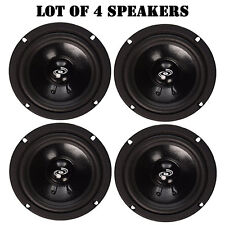"Lot of (4) Pyle Pro PDMR8 8"" 360 Watt 8-Ohm, Driver Mid Range Audio Speaker"