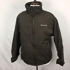 Columbia Brown Insulated Fleece Lined Womens Winter Coat Jacket sz XL Puffer