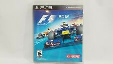 F1 2012 (Sony PlayStation 3, 2012) Complete CIB Tested Racing