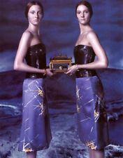 GIANNI VERSACE RUNWAY Fall 1998 RARE Purple Silk Dress Size IT 40 US 4