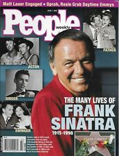 People Magazine Frank Sinatra Michael Zaslow Curt Schilling Matt Lauer Emmy's