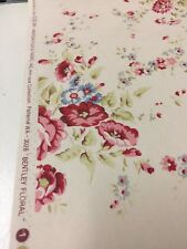 American Folk Bentley Floral vintage print fabric by the yard pillows drapery