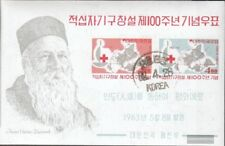 South-Korea block181 fine used / cancelled 1963 Red Cross