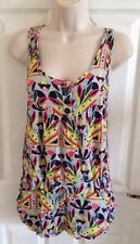 RIVER ISLAND Ladies summer print playsuit jumpsuit size 8