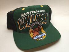 Wallabies Australian Rugby Original Baseball Hat Cap Adjustable Size Black Green